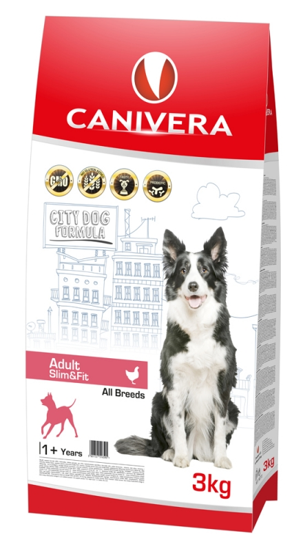 CANIVERA ADULT SLIM&FIT ALL BREEDS 3KG